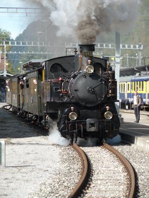 Dampfbahn Interlaken