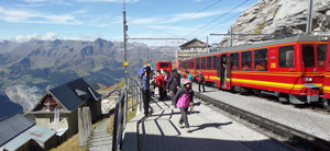 Eiger station view